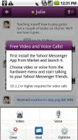 Yahoo Messenger Plug-in Screen