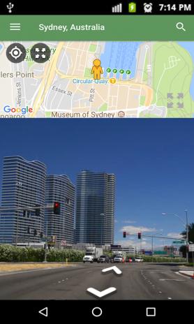 street view live map satellite earth navigation screenshot 1