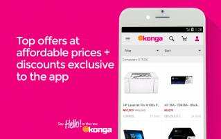 Konga Online Marketplace Screen