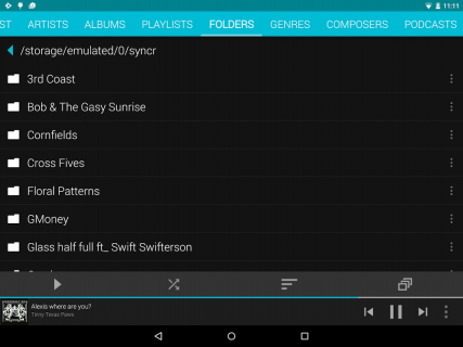 Rocket Player : Music Player screenshot 22