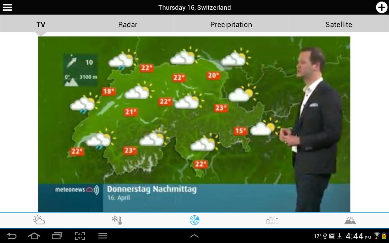 Meteo Svizzera screenshot 2