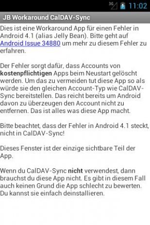 JB Workaround CalDAV-Sync 1 4 Download APK for Android - Aptoide