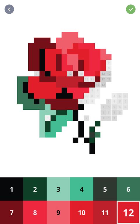 Pixel Art: Colour by Number screenshot 4