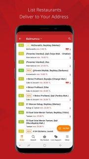 Yemeksepeti - Order Food Easily screenshot 3