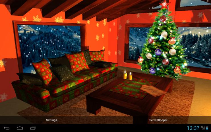 Brilliant 3D Christmas Fireplace Hd Live Wallpaper Full 1 47 Download Download Free Architecture Designs Lukepmadebymaigaardcom