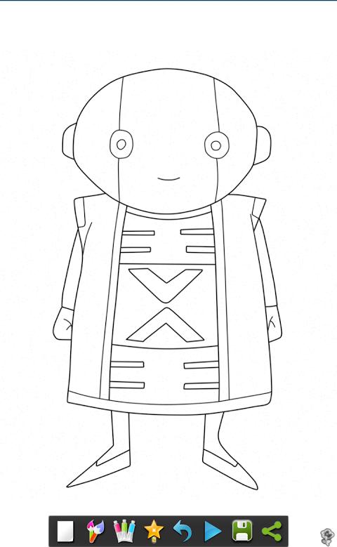 Livre De Coloriage Dbs Manga 3 1 0 Telecharger Apk Android Aptoide