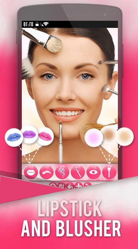 Makeup Photo Grid Beauty Salon-Fashion Style screenshot 2