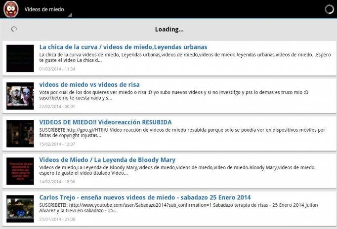 videos de miedo captura de pantalla 1 ...
