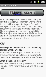 Football Manager 2014 Talents 1 2 Download APK for Android