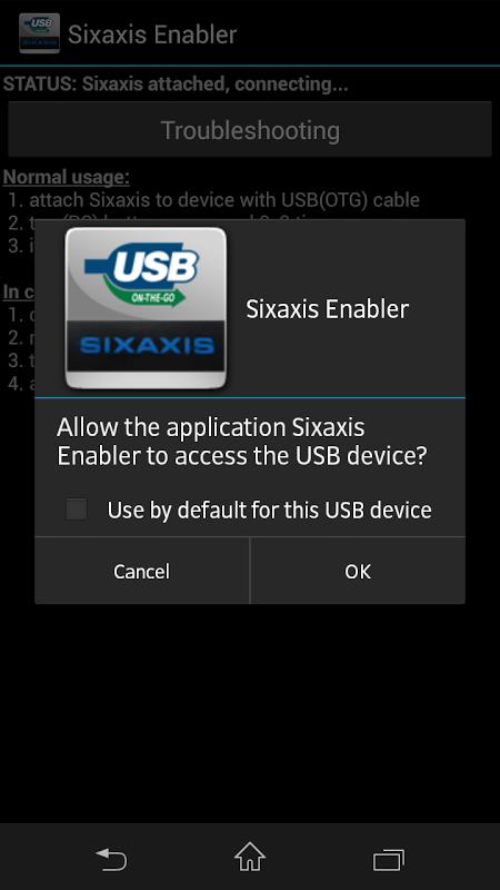 sixaxis enabler