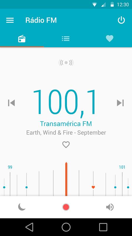 Rádio FM Motorola screenshot 1