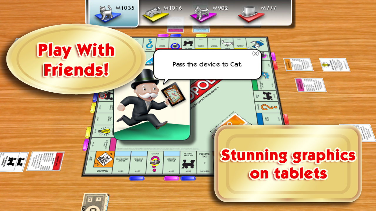 Monopoly for android western poker table
