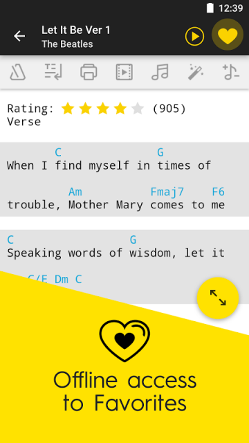Guitar yellow guitar chords : Ultimate Guitar Tabs & Chords | Download APK for Android - Aptoide