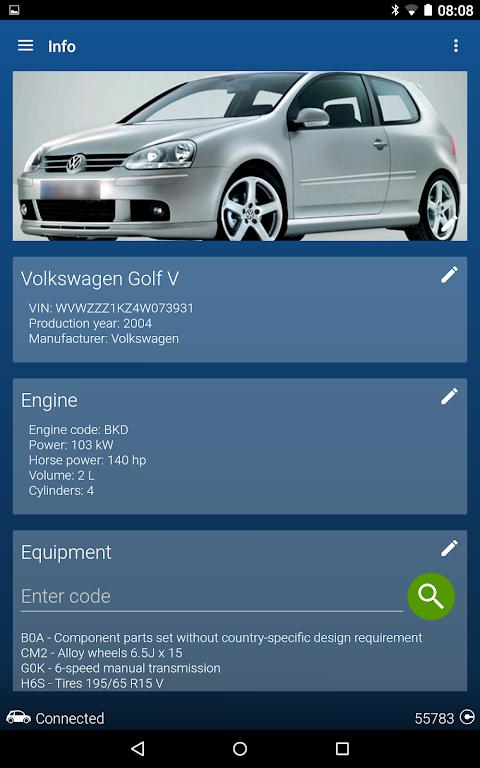OBDeleven PRO car diagnostics app VAG OBD2 Scanner screenshot 22