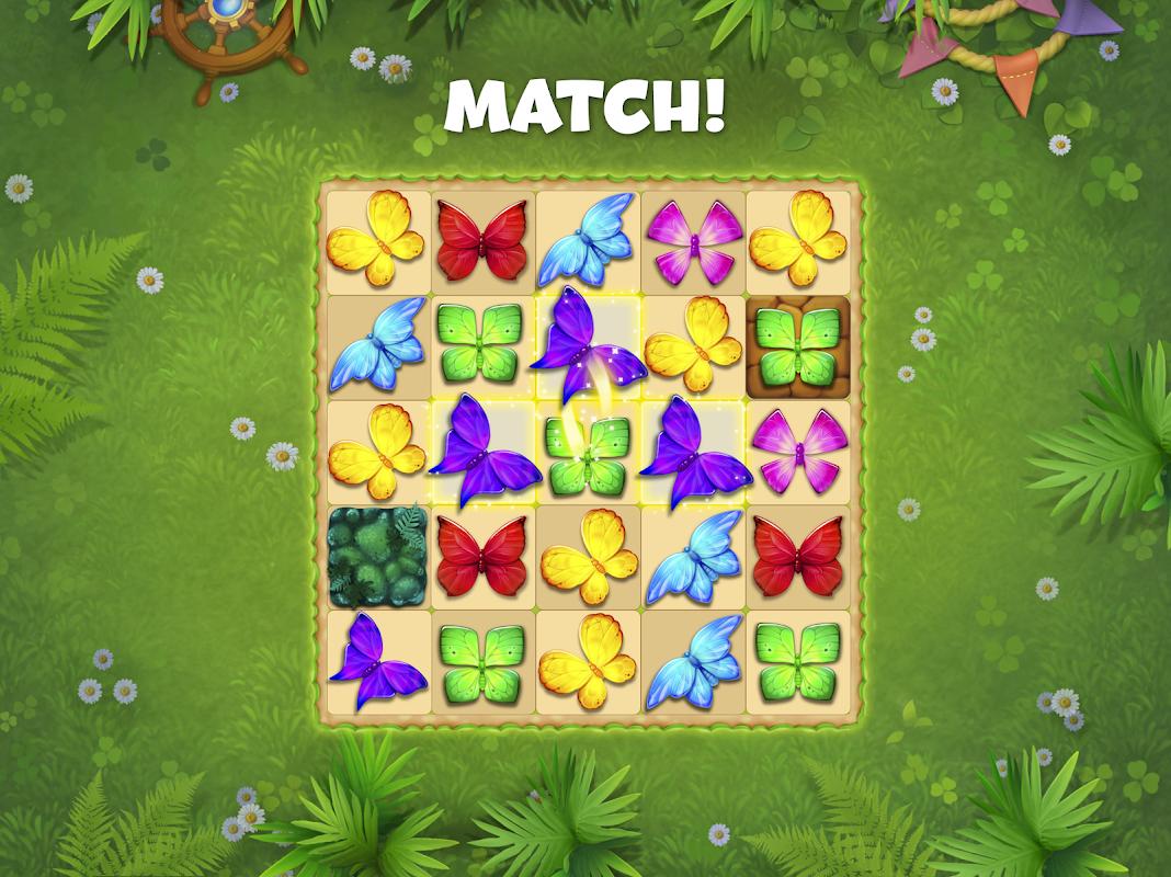 Butterfly Garden Mystery: Scapes Match 3 Story screenshot 3