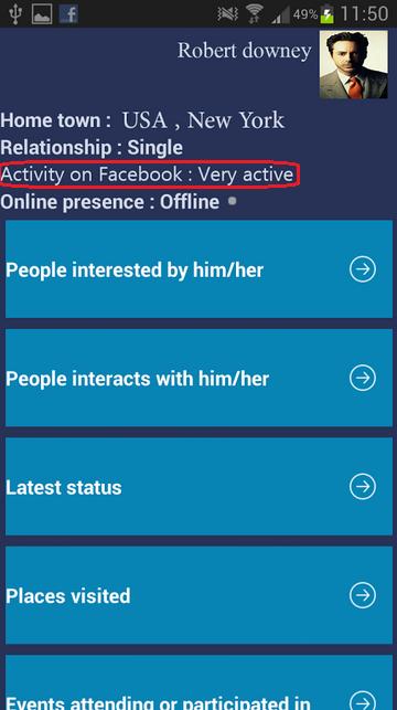 Fb Spy Apk - FB Friends Spy +