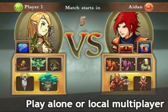 Скачать взломанную M&M Clash of Heroes v 1.4 Mod (Unlimited Gold/Gems) 2