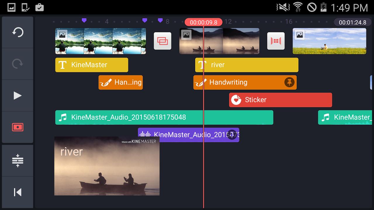 KineMaster – Editor Completo screenshot 1