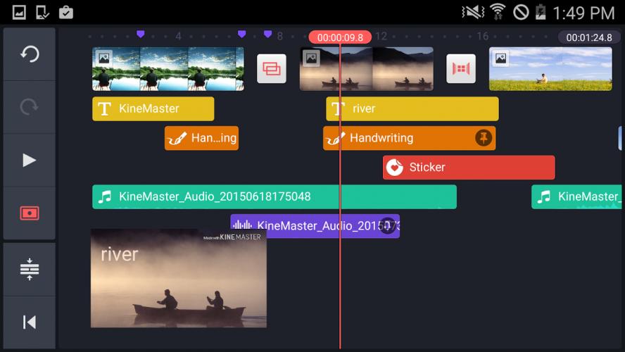 KineMaster – Éditeur vidéo Pro screenshot 1