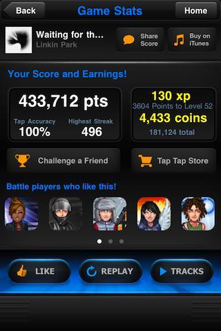 Tap Tap Revenge 4 screenshot 6