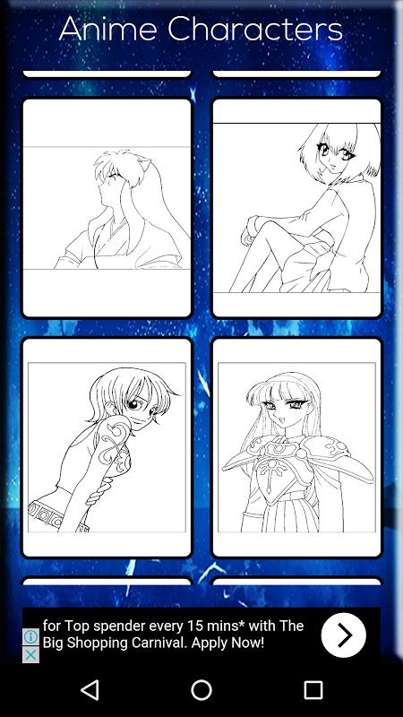 Anime Coloring Book screenshot 1