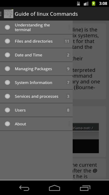 guide of linux commands download apk for android aptoide. Black Bedroom Furniture Sets. Home Design Ideas