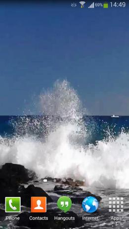 Ocean Waves Live Wallpaper Hd 14 Screenshot 3