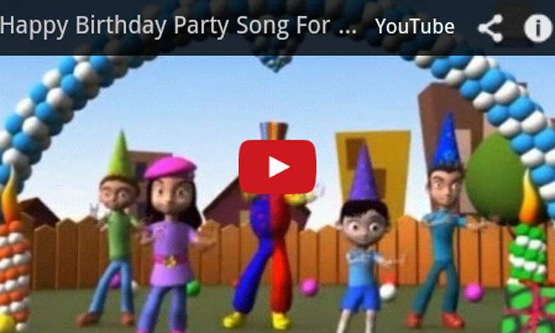 Birthday Kids Songs 1 0 Download Android Apk Aptoide