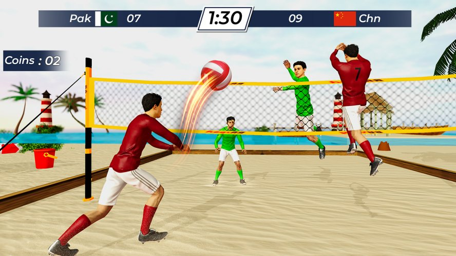 Volleyball 2021 - Offline Sports Games screenshot 1