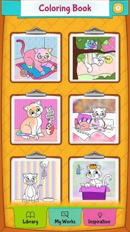 Mewarnai Gambar Kucing 23 Unduh Apk Untuk Android Aptoide