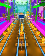Train Surf Subway Endless Run Fun screenshot 1