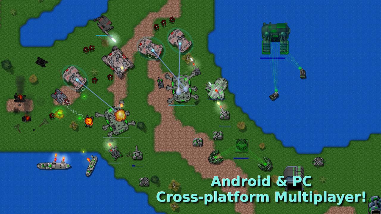 Rusted Warfare - RTS Strategy screenshot 1