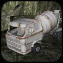 gioco del camion di cemento per i bambini