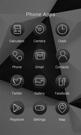 White and Black - ZERO Theme 1 0 Download APK for Android