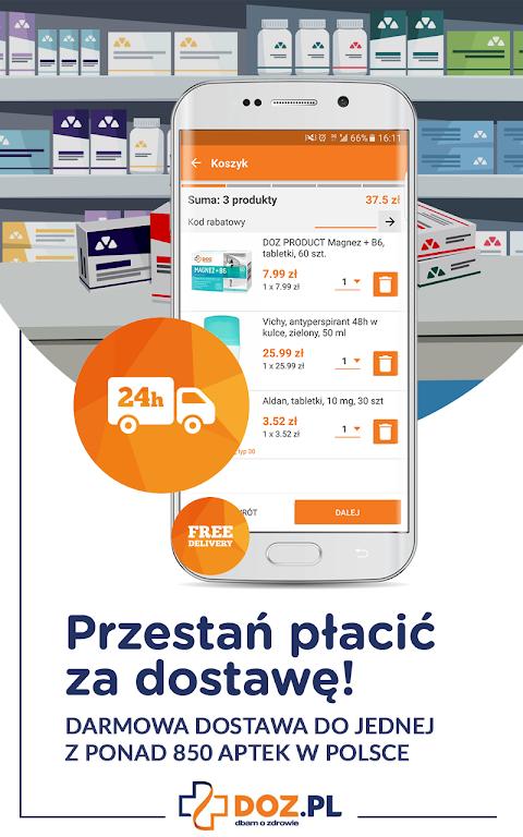 DOZ.pl - wszystko o lekach screenshot 2