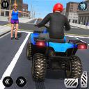 ATV Quad City Bike Simulator 2020: Bike Taxi Games