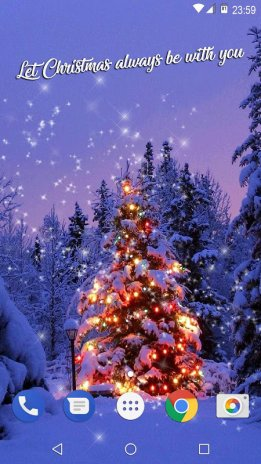 ... christmas tree wallpapers live free animated screenshot 4 ...