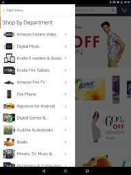 Amazon for Tablets screenshot 3