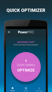 PowerPro: Battery Saver - manage your battery life screenshot 2