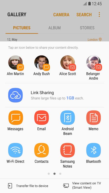 Link Sharing screenshot 1