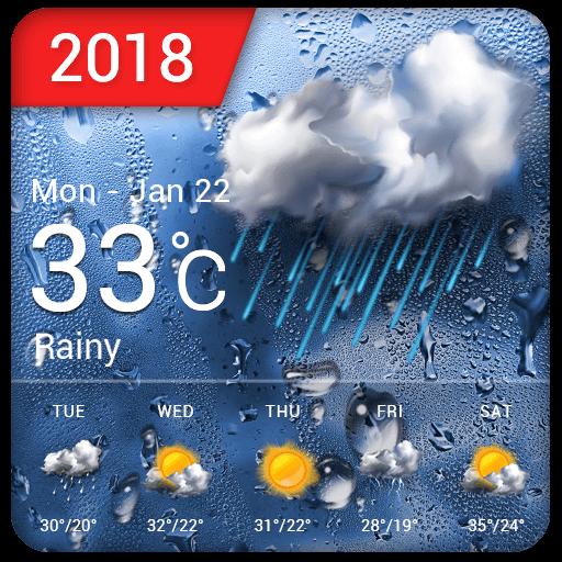 New 2019 Weather App & Widget