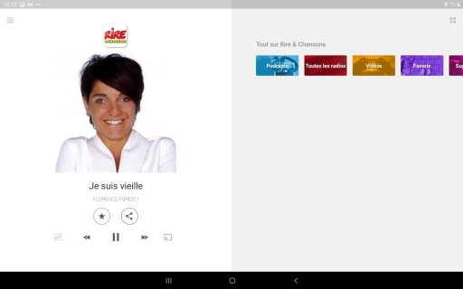 Rire & Chansons Radio screenshot 3