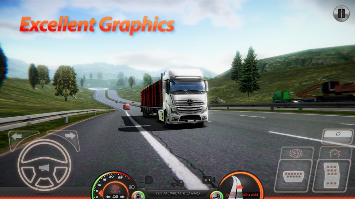 Truck Simulator : Europe 2 screenshot 1