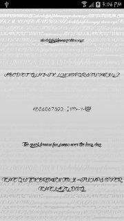 Fonts - Kiss for FlipFont free screenshot 5
