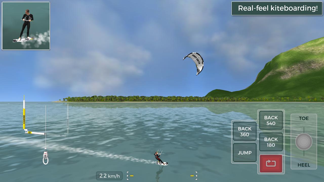 Kiteboard Hero screenshot 1