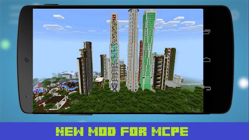 Giant City Map for MCPE 1.1 Download APK for Android - Aptoide on