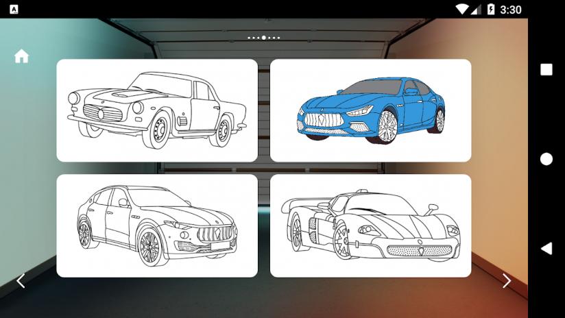 Italian Cars Coloring Book Screenshot 6