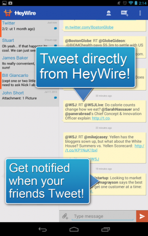 download heywire free texting