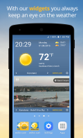 wetter.com - Weather and Radar Screen