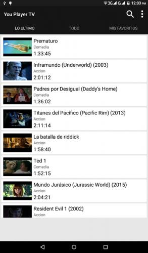 You TV Player screenshot 1